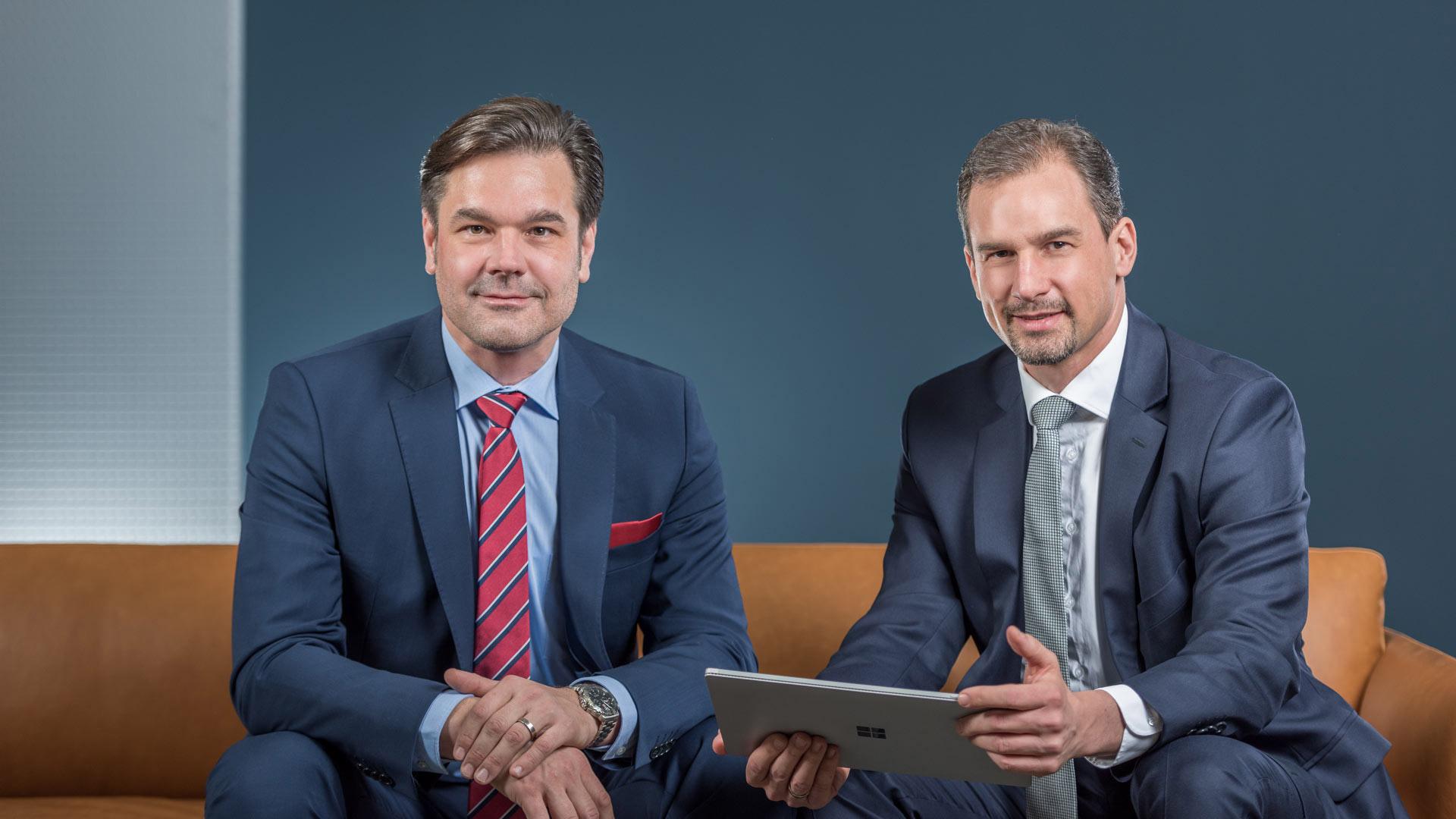 René Czaker und Dr. Steffen Schabel